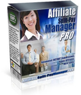 Product picture Affiliate Split-Pay Manager PRO